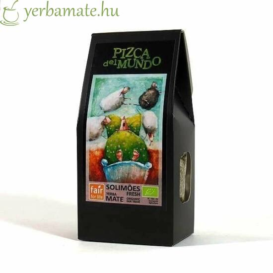 Yerba Mate Tea, Pizca del Mundo Solimões fresh 100g
