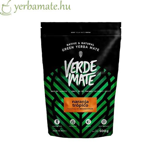 Yerba Mate Tea, Verde Mate Green Naranja Tropico 500g