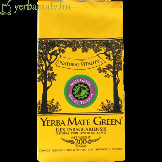 Yerba Mate Tea, Mate Green Mas IQ Tropical 200g
