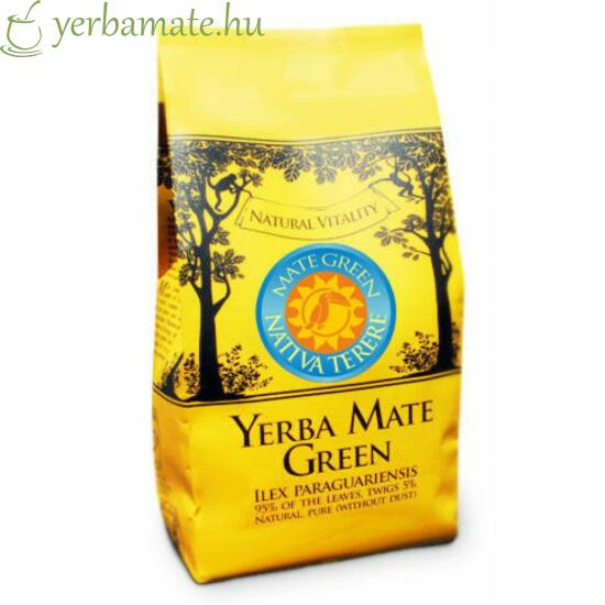 Yerba Mate Tea, Mate Green Nativa Terere  400g