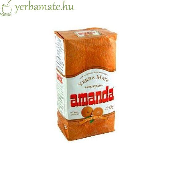 Yerba Mate Tea, Amanda Naranja 500g
