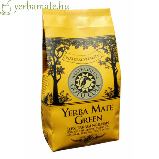 Yerba Mate Tea, Mate Green GOTU COLA (95% levél) 400g