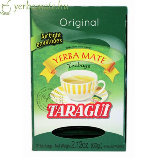 Yerba Mate Tea TARAGÜI, 20x3g filter