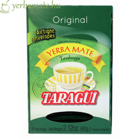 Yerba Mate Tea TARAGÜI, 40x3g filter