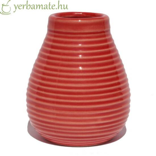 Málnapiros kerámia mate csésze (Calabaza)