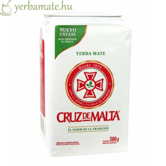 Yerba Mate Tea, Cruz de Malta 500g