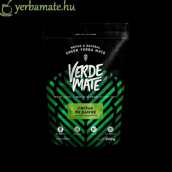 Yerba Mate Tea, Verde Mate Green Cactus de Juarez 500g