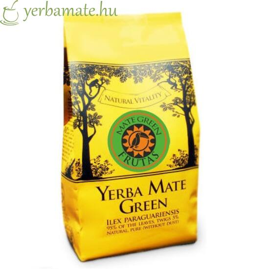 Yerba Mate Tea, Mate Green FRUTAS (95% levél) 400g