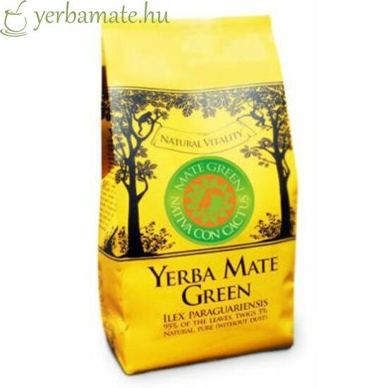 Yerba Mate Tea, Mate Green Nativa con Cactus (95% levél) 400g