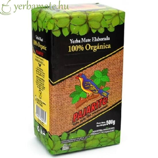 Yerba Mate Tea, Pajarito Orgánica (BIO) 500g