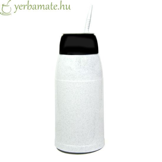 FLUVION Compacto Termosz - 500ml Fekete