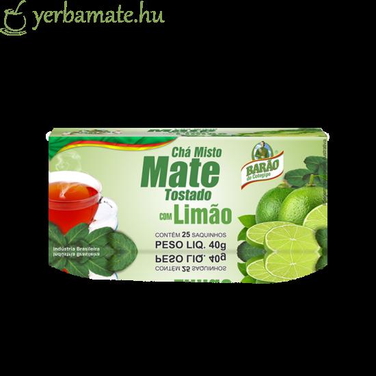 Yerba Mate Tea, Barao citromos, 25 filter