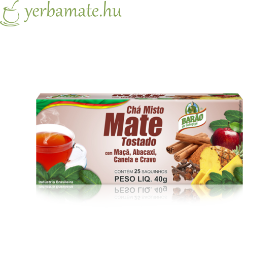 Yerba Mate Tea, Barao ananászos 25 filter