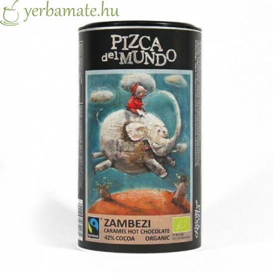 Pizca del Mundo ZAMBEZI - karamellás forró csoki 250g  ORGANIKUS - FAIRTRADE