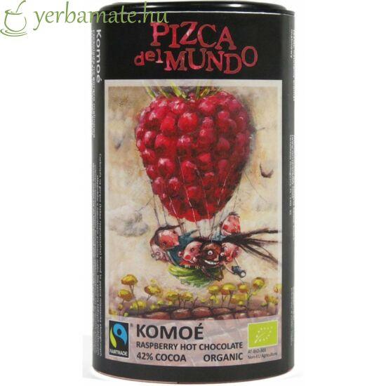 Pizca del Mundo Komoé - forró csoki 250g MÁLNA ORGANIKUS - FAIRTRADE