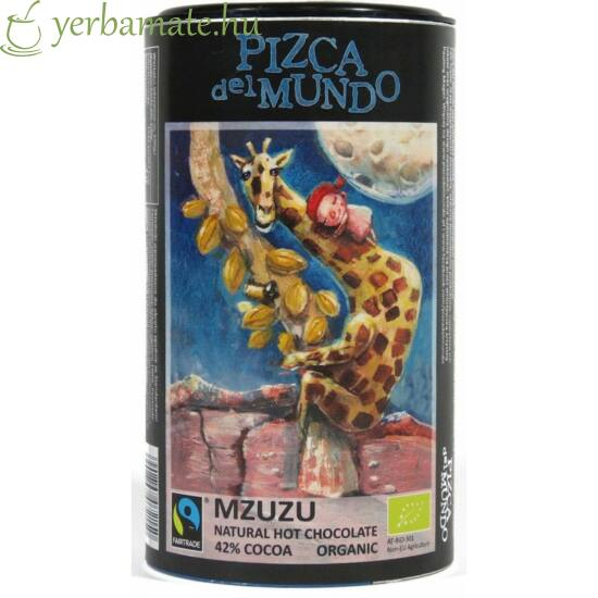 Pizca del Mundo Mzuzu - forró csoki 250g ORGANIKUS - FAIRTRADE
