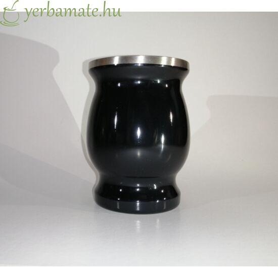 INOX mate tök (Calabaza) 230ml - fekete