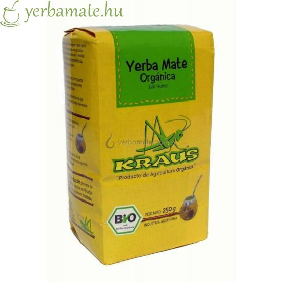 Yerba Mate Tea, Kraus Orgánica (Fair Trade) 250g