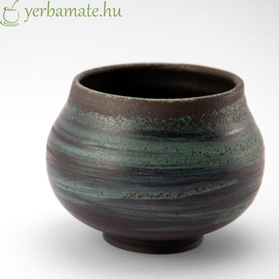 """""""Fekete fény"""" Fekete porcelán mate csésze max 200 ml"""