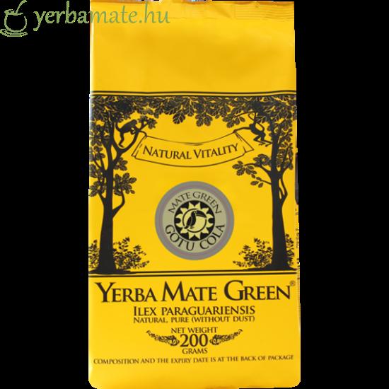 Yerba Mate Tea, Mate Green GOTU COLA (95% levél) 200g