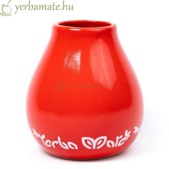 """Matero """"CIELO"""", piros kerámia mate csésze 350 ml"""