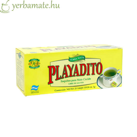 Yerba Mate Tea PLAYADITO, 20x3g filter