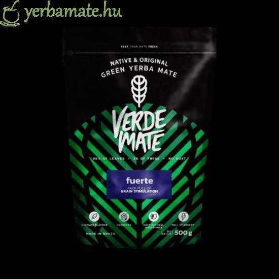 Yerba Mate Tea,Verde  Mate Green FUERTE (95% levél) 500g