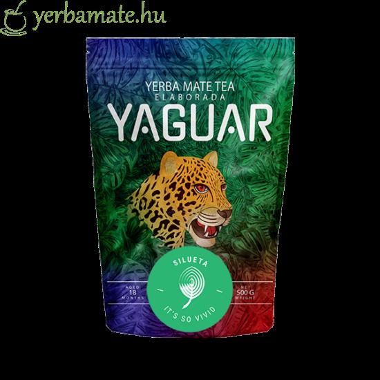 Yerba Mate Tea, Yaguar Silueta 500g
