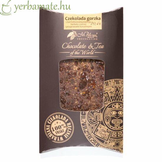Csokoládé fekete teával és fűszerekkel 85g