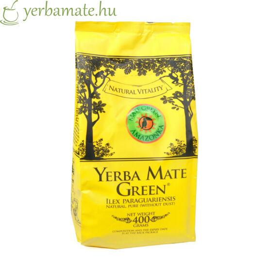 Yerba Mate Tea, Mate Green Amazonka (95% levél) 400g