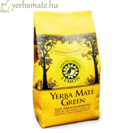 Yerba Mate Tea, Mate Green Lemon (90% levél) 200g