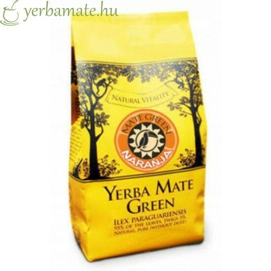 Yerba Mate Tea, Mate Green Naranja (90% levél) 200g