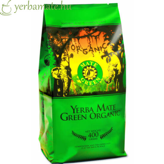 Yerba Mate Tea, Mate Green ORGANIC (BIOl) 400g