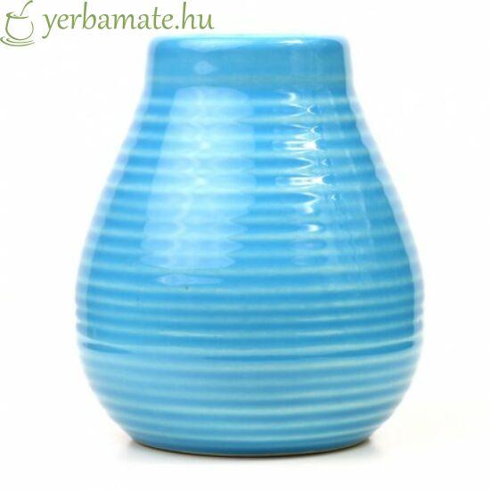 Kék kerámia mate tök (Calabaza)