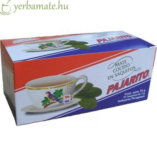 Yerba Mate Tea, Pajarito Tradicional, 25x3g filter