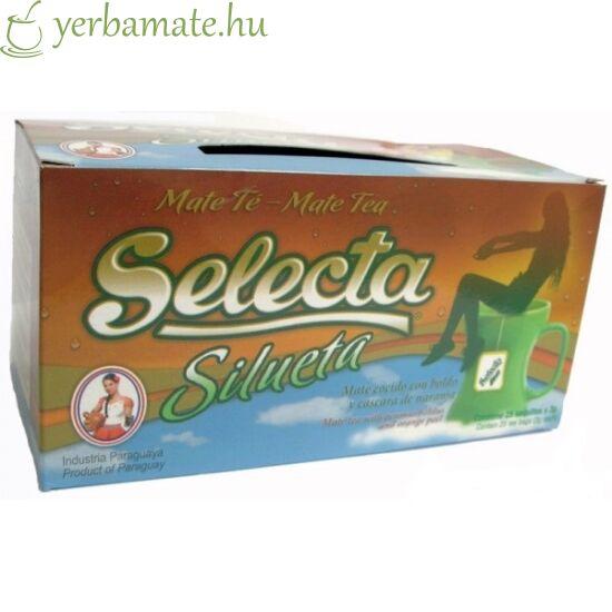 Yerba Mate Tea, Selecta Silueta, 25x3g filter