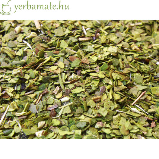 Yerba Mate Tea, Mate Green DESPALADA (95% levél) 400g
