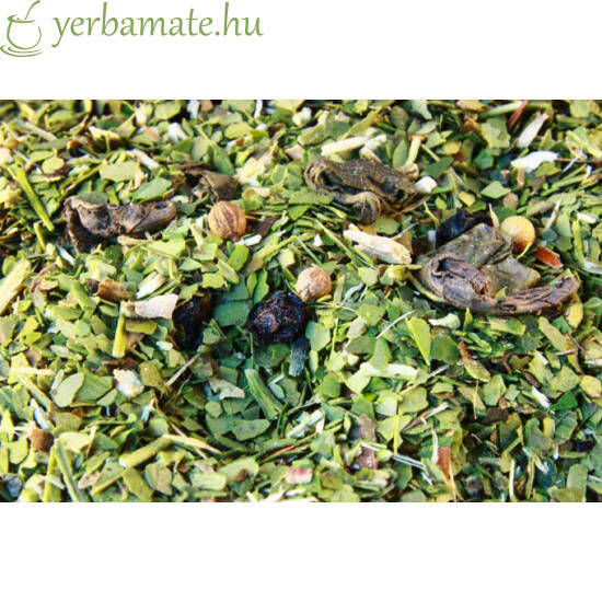 Yerba Mate Tea, Mate Green ENERGY (95% levél) 400g