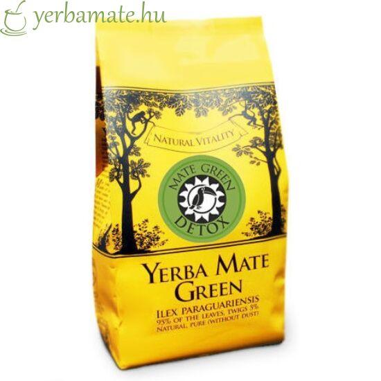 Yerba Mate Tea, Mate Green DETOX (95% levél) 400g