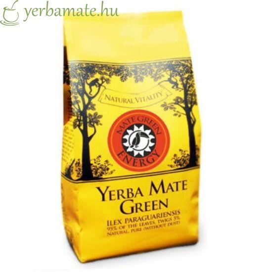 Yerba Mate Tea, Mate Green ENERGY (95% levél) 400g