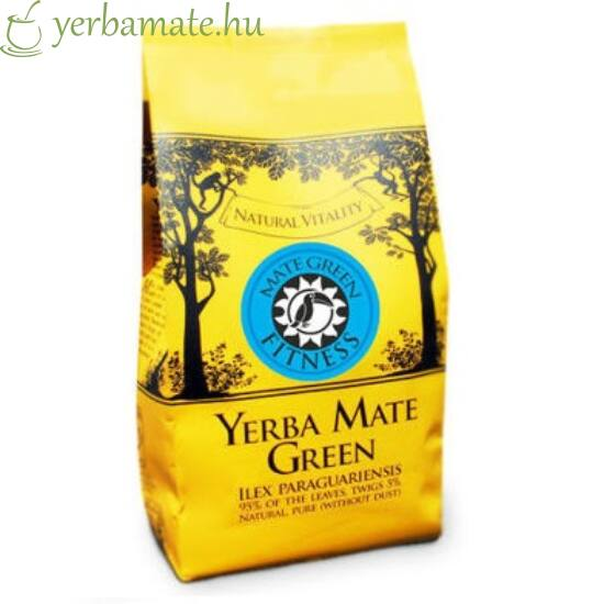 Yerba Mate Tea, Mate Green FITNESS (95% levél) 400g