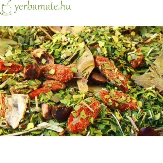 Yerba Mate Tea, Mate Green FUERTE CATUABA (95% levél) 200g