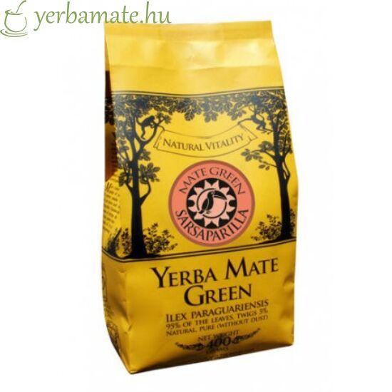 Yerba Mate Tea, Mate Green Sarsaparilla (95% levél) 400g Sérült csomagolás
