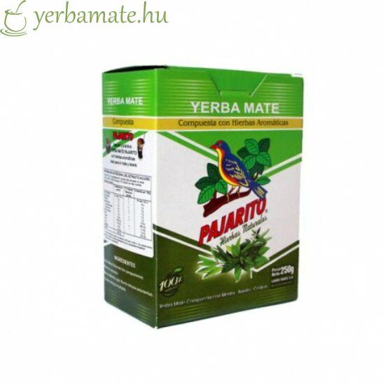 Yerba Mate Tea, Pajarito Compuesta con Hierbas 250g
