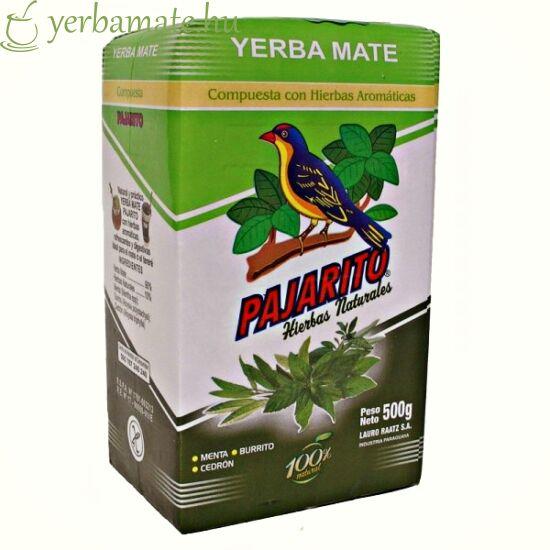 Yerba Mate Tea, Pajarito Compuesta con Hierbas 500g