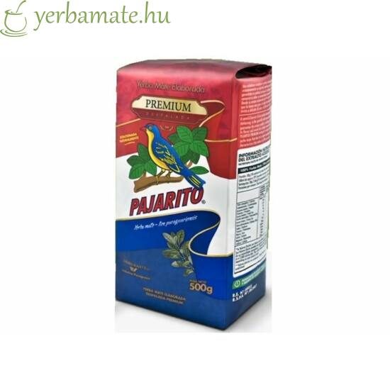 Yerba Mate Tea, Pajarito Premium Despalada 500g