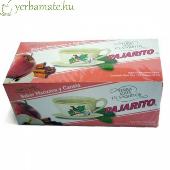 Yerba Mate Tea, Pajarito almás-fahéjas, 20x3g filter