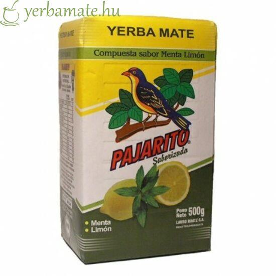 Yerba Mate Tea, Pajarito Citrom/Menta 500g