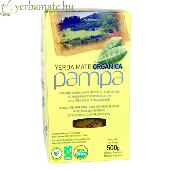 Yerba Mate Tea, Pampa Orgánica (Fair Trade) 500g