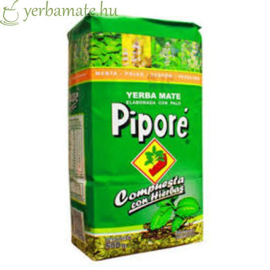 Yerba Mate Tea, Piporé con Hierbas 500g